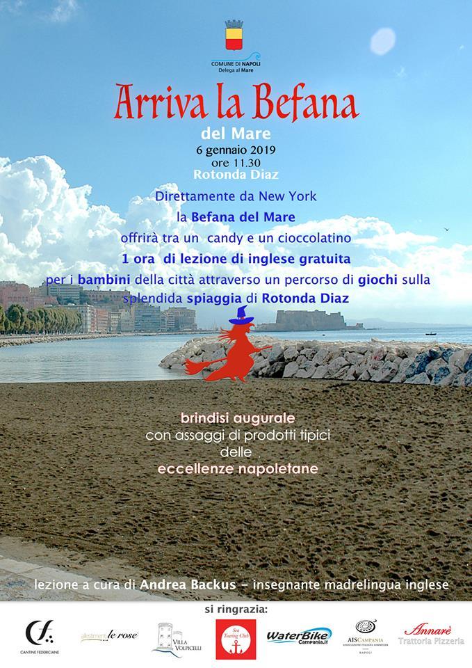 'Arriva la Befana': evento gratuito dedicato ai bambini alla Rotonda Diaz