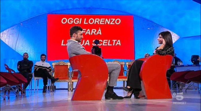 Uomini e Donne, trono classico: ultima puntata per Lorenzo Riccardi