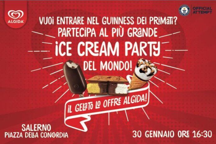 Salerno: Algida sceglie Piazza della Concordia per la festa del gelato
