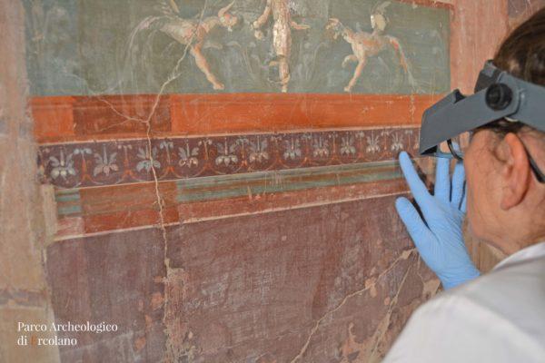 Restauri aperti al pubblico al Parco Archeologico di Ercolano