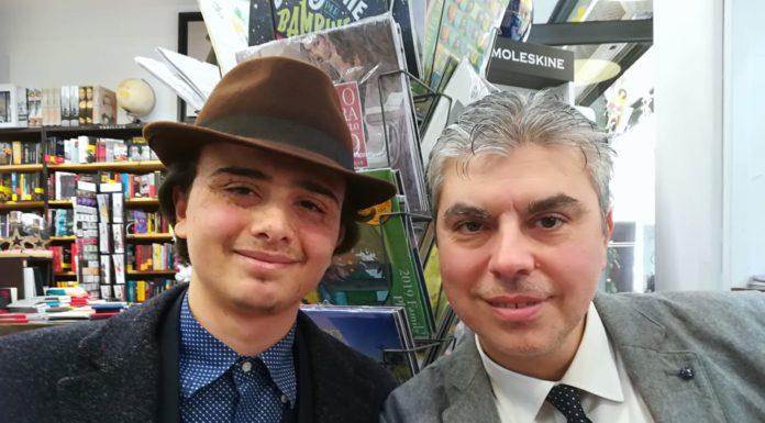 """Ciro Borrelli e Domenico Livigni, autori del libro """"Totò con i 4"""" edito da Apeiron"""