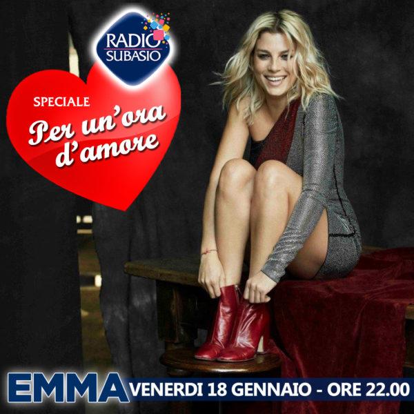 Radio Subasio: Speciale Per Un'Ora d'Amore con Emma