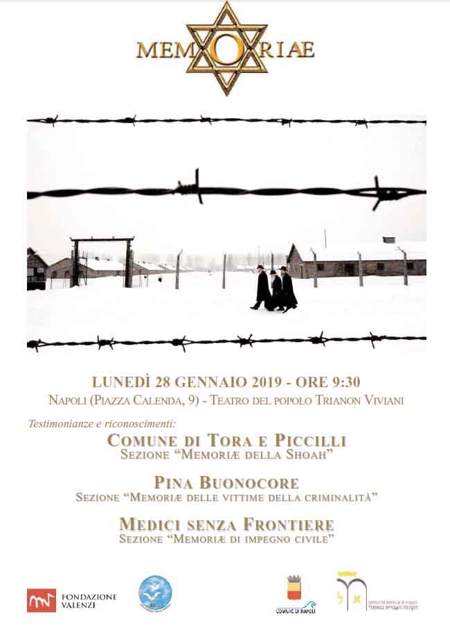 Giornata della Memoria: i principali appuntamenti a Napoli