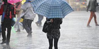 Meteo Campania, previsto un calo delle temperature con l'arrivo di pioggia