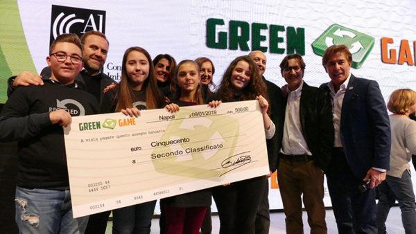 Il Liceo Mercalli di Napoli Campione Regionale Green Game Campania