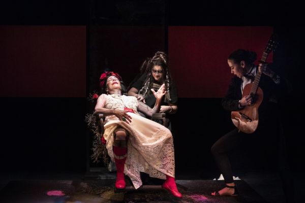 Al Teatro Mercadante stasera debutta 'Viva la Vida!' con Pamela Villoresi