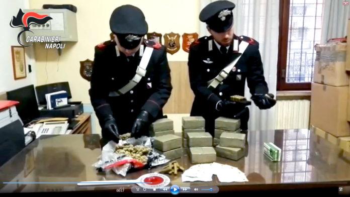 Napoli, Ponticelli-San Giovanni: nascondeva 17 kg di droga in camera da letto