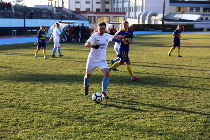Il Napoli Femminile vince contro il Sant'Egidio (2-0)