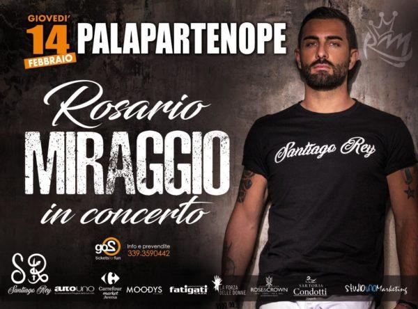 Rosario Miraggio presenta il concerto di San Valentino al Palapartenope