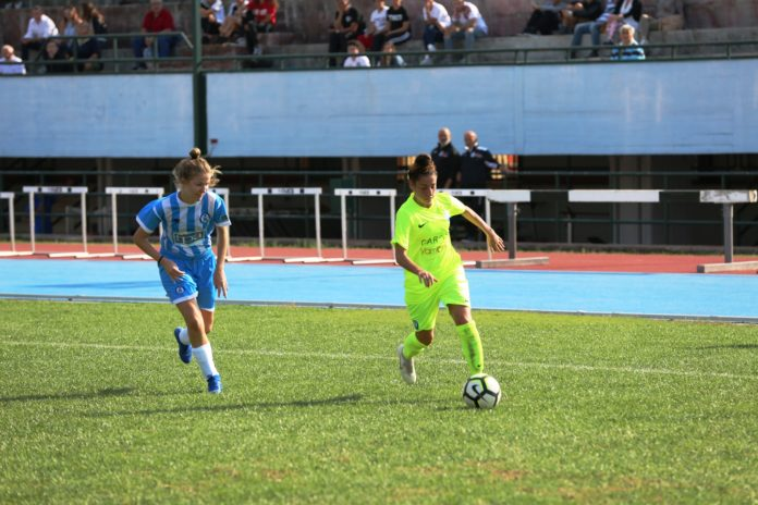 Il Napoli Femminile Carpisa Yamamay vince il girone e va agli spareggi