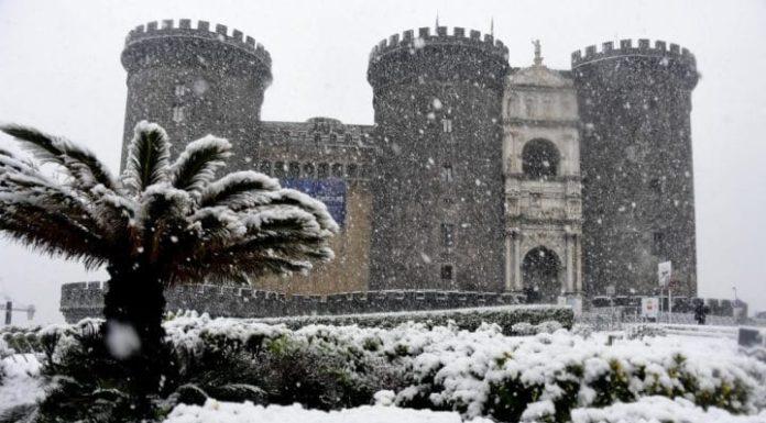Meteo Campania: con Medicane a Napoli ecco gelo e neve