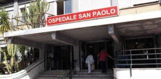 Ospedale San Paolo, paziente muore al Pronto Soccorso dopo 6 ore