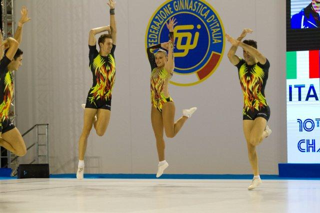 Ginnastica ritmica competitiva con Poseidon ed Evoluzione Danza