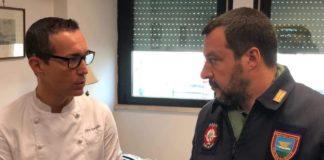 Salvini a Napoli, incontro con Sorbillo in aeroporto e poi ad Afragola