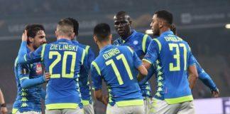 Napoli - Zurigo 2-0, azzurri qualificati agli ottavi di Europa League