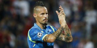Calcio Napoli, è ufficiale il passaggio di Hamsik al Dalian