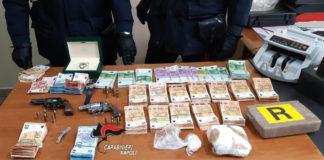 Castello di Cisterna: Scoperto nascondiglio di armi, droga e diamanti. I nomi degli arrestati