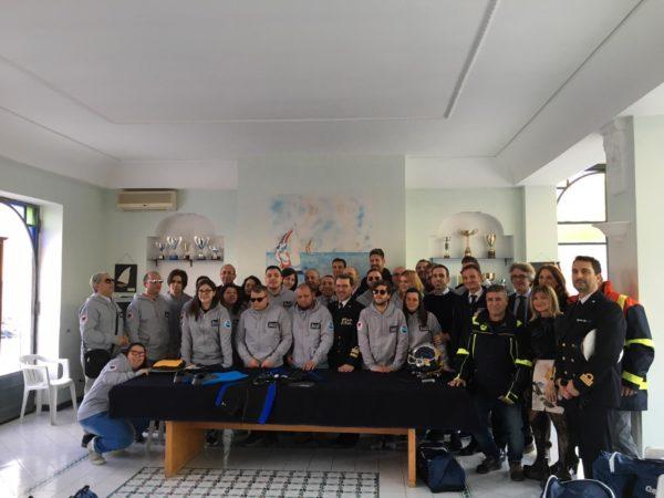 Disabilità: donato al Colosimo il primo kit per immersioni subacquee