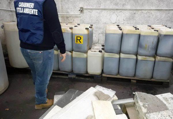 Napoli, Ponticelli: scoperta ditta che stoccava illecitamente rifiuti tossici