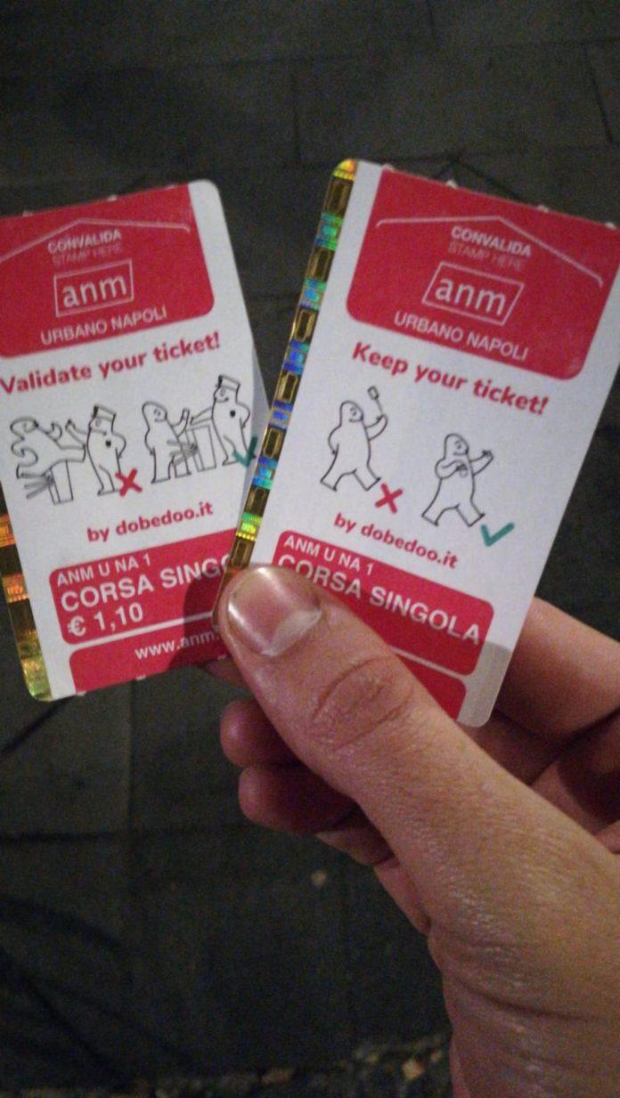 """ANM lancia la campagna """"Yes or Not"""" le regole sui biglietti diventano un fumetto"""