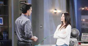 Beautiful, anticipazioni: Steffy rifiuta il patto con Bill e rinuncia a Liam
