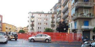 Napoli, Vomero: piazza Leonardo tra box non realizzati e voragini