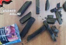 Fermato con hashish, aggredisce i Carabinieri: arrestato 22enne di Mercogliano