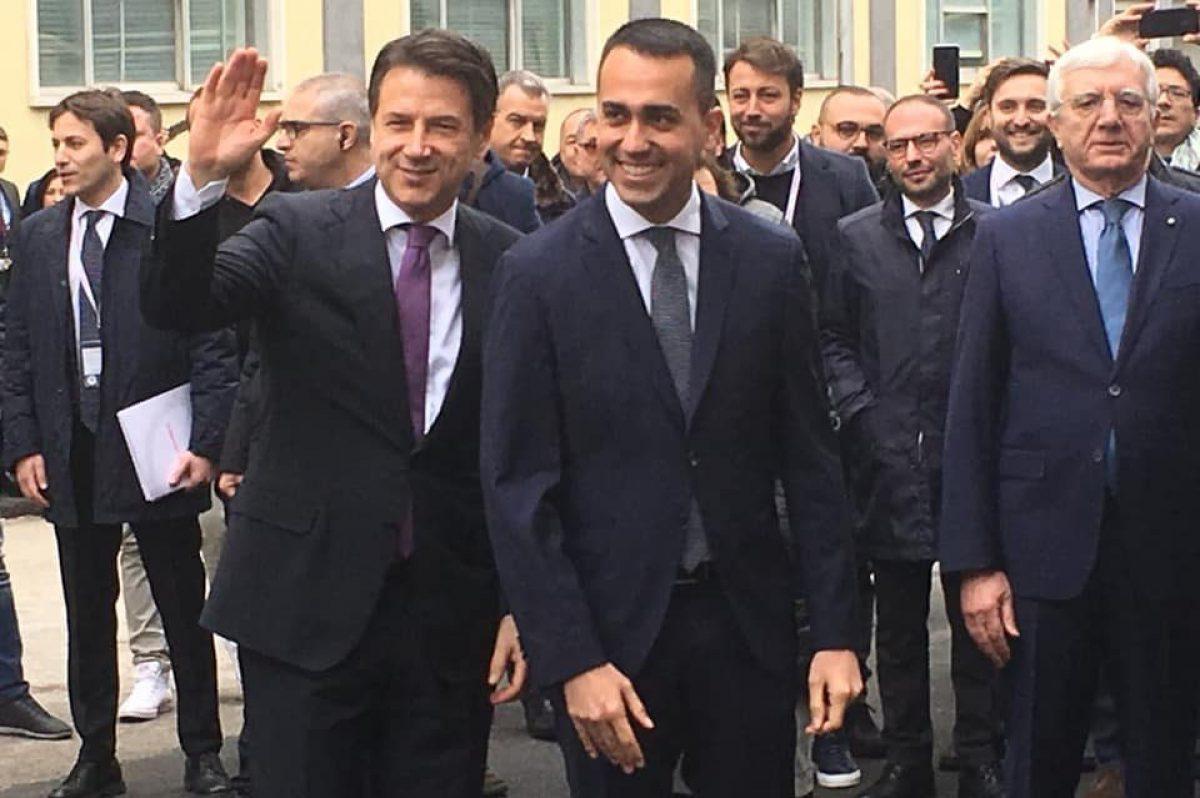 Pomigliano, Di Maio e Conte: