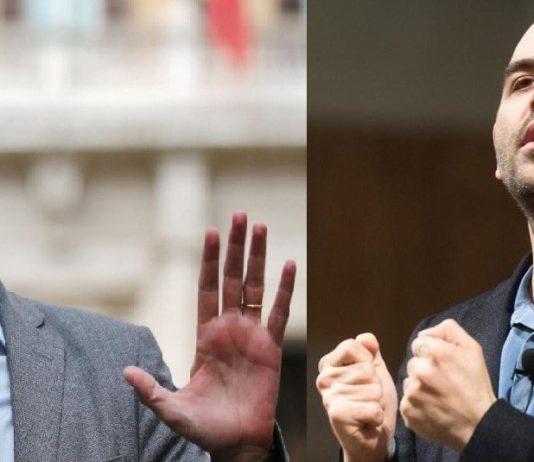 """De Magistris """"punge"""" Roberto Saviano: """"Incapace di raccontare la vera Napoli"""""""
