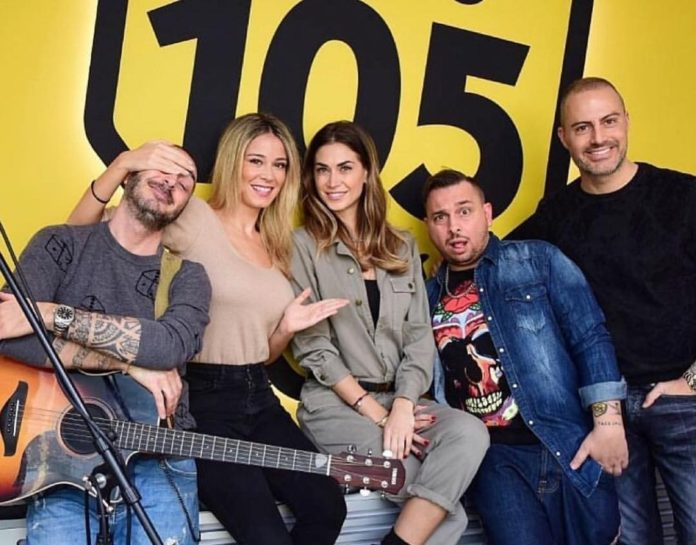 Diletta Leotta e Melissa Satta a Radio 105: fan entusiasti sui social