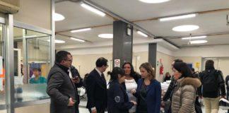 Blitz a sorpresa del ministro Grillo negli ospedali napoletani