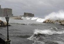 Vento forte e mare agitato, è allerta meteo in Campania