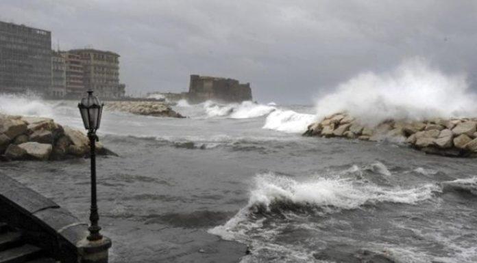 Allerta meteo in Campania: venti forti su tutta la regione