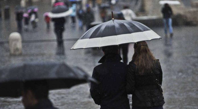Meteo Campania: sarà una settimana di freddo e maltempo