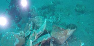 Napoli, un tesoro nelle acque di Posillipo: trovato carico di una nave del '700