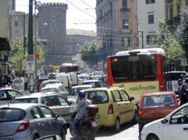 Napoli: Dispositivo del traffico per i lavori tra piazza Municipio e via De Gasperi