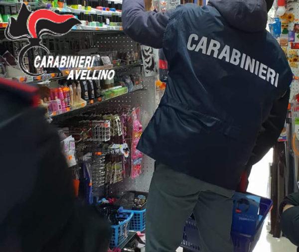 Cronaca di Avellino: Sequestrati vestiti, accessori, e giochi di Carnevale 'pericolosi'