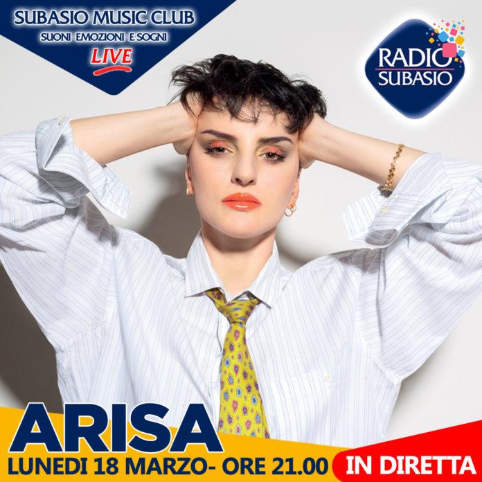 "Radio Subasio: Arisa ospite a Subasio Music Club ""Mi sento bene"""