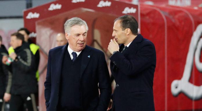 """Ancelotti: """"Abbiamo dominato la Juve. Il rosso? Episodio controverso"""""""