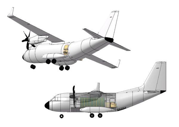 Leonardo, Aerostrutture: Ecco il nuovo C-27J Spartan per le missioni anticendio