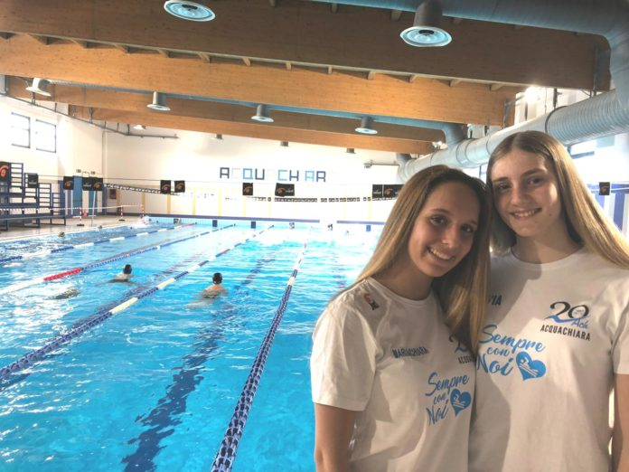 D'Argenzio e Di Sena ai campionati italiani indoor di nuoto di fondo