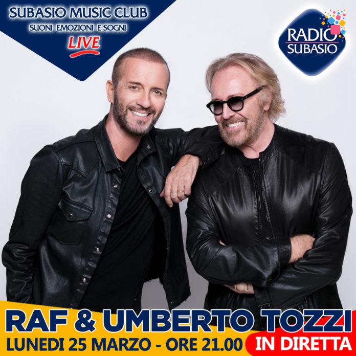 Raf e Umberto Tozzi live acustico a Subasio Music Club