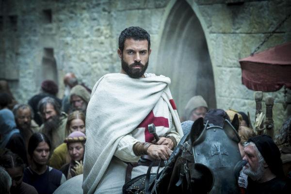 Comicon: Tom Cullen presenta la seconda stagione della serie tv Knightfall