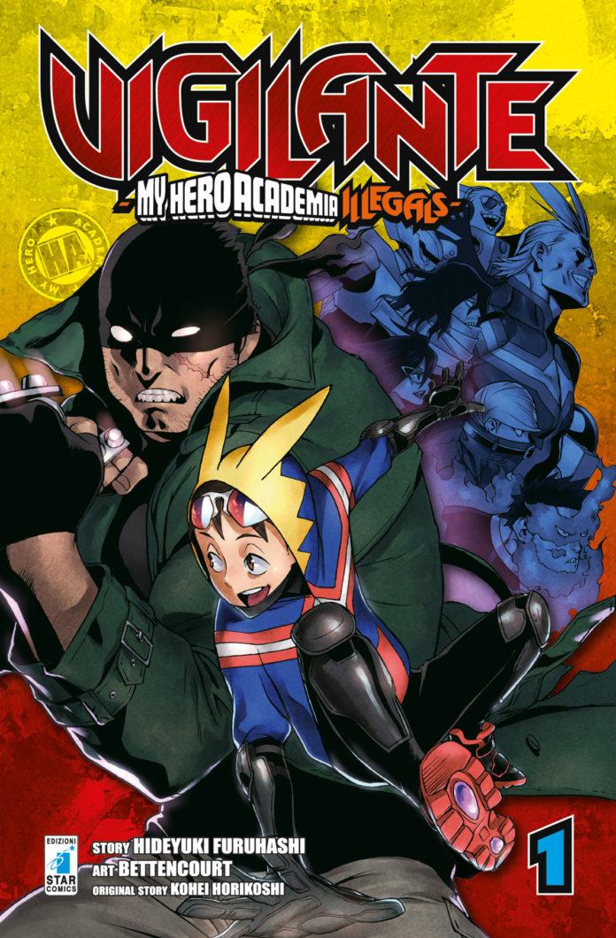 Al Comicon arrivano gli autori di Vigilante - My Hero Academia Illegalsa
