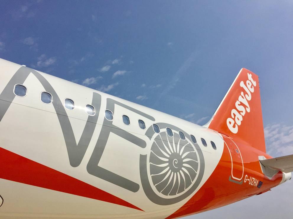 EasyJet porta a Napoli A320Neo, l'Airbus ecosostenibile