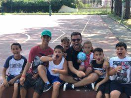 Ercolano: Andrea Sannino inaugura il nuovo campo per Basket e calcio a 5