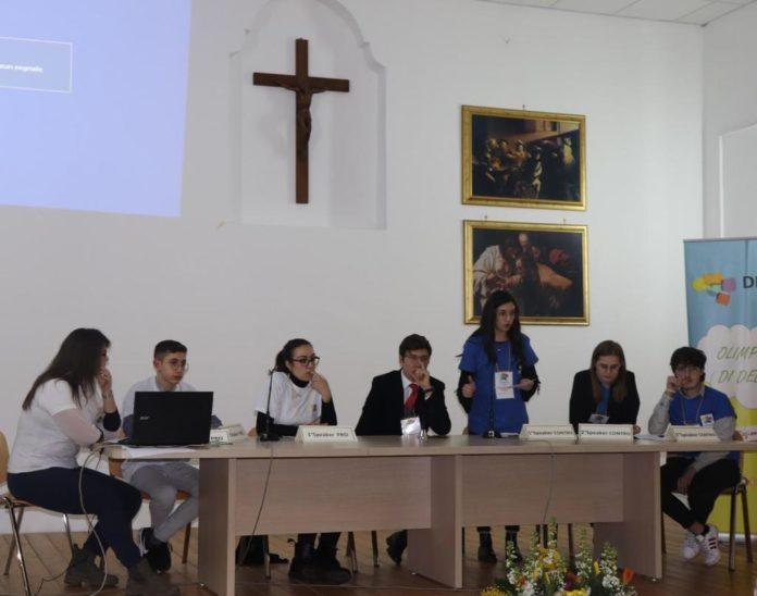 La Campania partecipa alle Olimpiadi di Debate