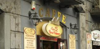 Napoli: Spari contro i vetri del 'Caffè del Professore e del bar 'Monide'