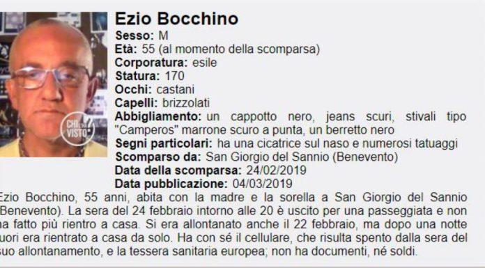 San Giorgio del Sannio, ansia per Ezio Bocchino: è scomparso dal 24 febbraio