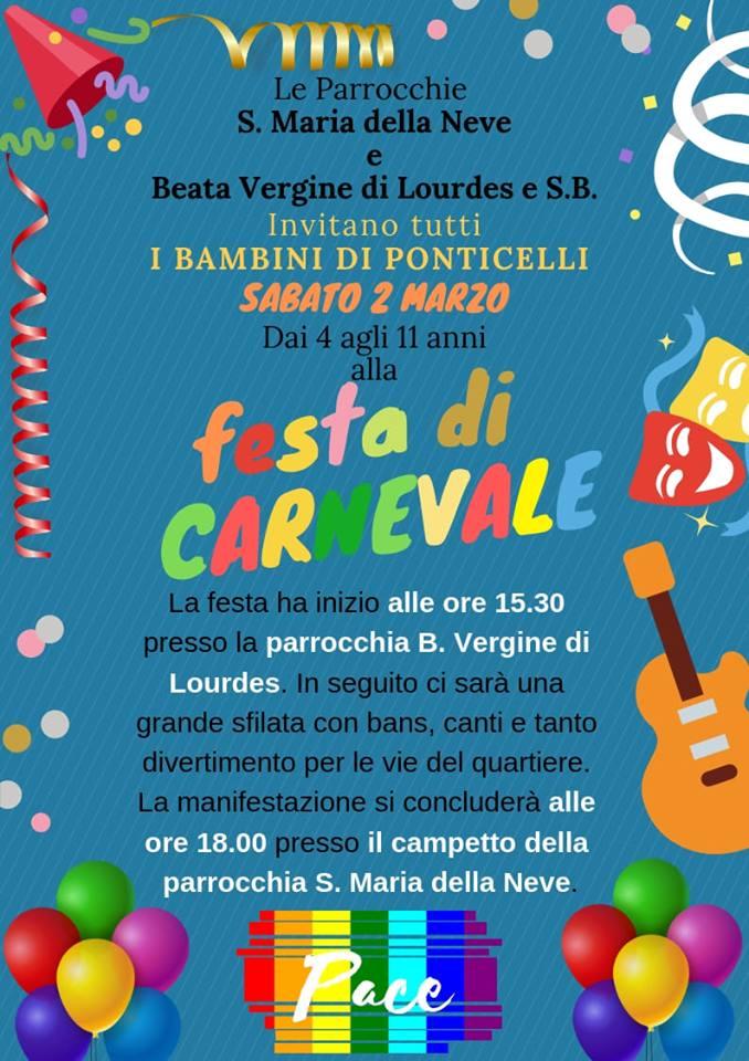 Napoli, il Carnevale di Ponticelli: una sfilata allegorica per la pace